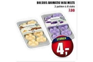 Bolsius Wax Melts.Bolsius Aromatic Wax Melts
