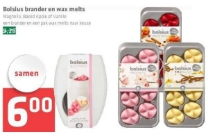 Bolsius Wax Melts.Bolsius Brander En Wax Melts
